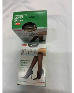 Gambaletto cover Bellissima 20 den 3 paia