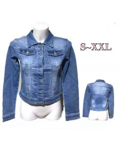Giacca jeans semplice