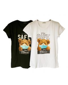 T-shirt stay safe orso
