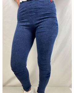Leggings tipo jeans con sfumature art_D5327