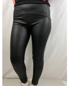 Leggings in ecopelle imbottiti push-up art_W613