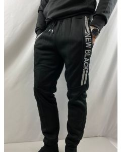 Pantaloni tuta uomo New Black art_290