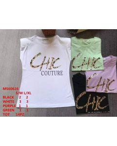 T-shirt CHIC Couture art_MS60626