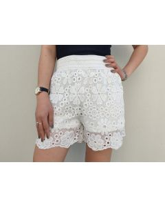 Shorts in pizzo fiore art_1248